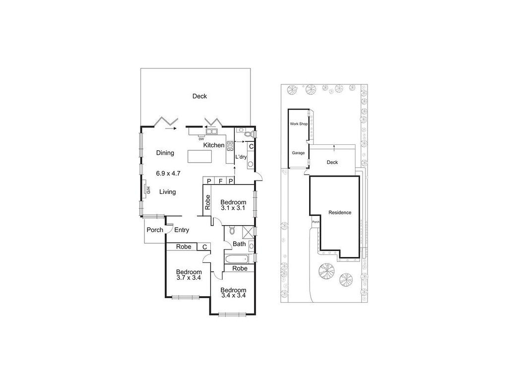 6 Tilley Street floorplan