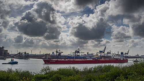 Oil Tanker 'Nave Electron'