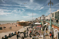 Fly by (stocks photography.) Tags: brighton brightonhovealbion gotthetopdown flyby seaside coast beach michaelmarsh photographer photography football