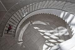 @ (its.my.turn) Tags: mudam luxemburg treppenhaus wendeltreppe architektur street
