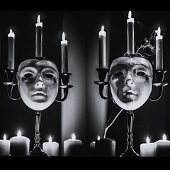 CODE: Midnight voices (@Maskmode) Tags: dark darkness black blackandwhite mysterious mystery ritual magic art darkart modernart mask horror horrorart spooky creepy candle candlelight psycho spell astral ancient sign gothic gothicart goth