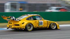 Porsche 935K, Hockenheim 2015 (ufrank66) Tags: porsche 935 k hockenheimring schrey gelb race speed action panning youngtimertrophy racecars fast