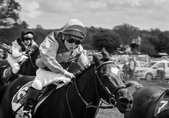 Racing ponies (tom ballard2009) Tags: sussex racing parham parhampointtopoint pointing gopointing pointtopoint mono blackwhite jockey sport ponies luke martin seasonspennyblack pony