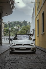 Golf GTI MK7 (Silvano2k) Tags: volkswagen gti car carro esportivo santos branco cidade nikon d3100