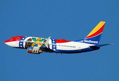 N280WN (JBoulin94) Tags: n280wn southwest airlines boeing 737700 missourione missouri one special livery washington ronald reagan national airport dca kdca usa virginia va john boulin