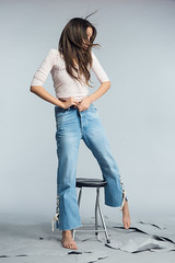 Denim Story by Jihane (aminefassi) Tags: aminefassi casablanca denim fashion jeans mode sorayagmira morocco maroc studio lookbook flash login portrait people 2017 人 картина