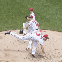 There's just no stopping this guy (Tim Brown's Pictures) Tags: washingtondc washingtonnationals nationalspark baseball majorleaguebaseball mlb mazscherzer pitching pitcher baseballgame montage collage multipleimage