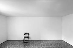 Interior (CoolMcFlash) Tags: bnw bw blackandwhite blackwhite chair minimalistic minimalism minimalistisch simple simpel simplicity room sparse canon eos 60d empty copyspace negativespace sw schwarzweis sessel einfach raum architecture architektur leer fotografie interior photography sigma 1020mm 35