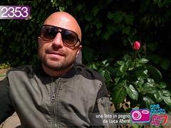Foto in Pegno n° 2352 (Luca Abete ONEphotoONEday) Tags: me selfie rose roseto piante green spring primavera fiori flowers 10 maggio 2017 2353