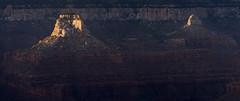 Buddha Temple, Manu Temple from Yavapai Point (koebla) Tags: landscape southwest sunset desert canyon grandcanyonvillage az
