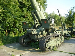 """203 mm Howitzer M1931 2 • <a style=""""font-size:0.8em;"""" href=""""http://www.flickr.com/photos/81723459@N04/34484953542/"""" target=""""_blank"""">View on Flickr</a>"""