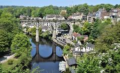 Knaresborough - River Nidd (Paul Thackray) Tags: yorkshire northyorkshire knaresborough rivernidd railwayviaduct boats 2017