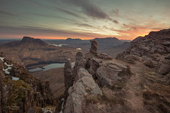 Sgorr Tuath Sunrise (JamesPicture) Tags: assynt coigach inverpolly landscapephotography scotland sgorrtuath stacpollaidh unitedkingdom gb