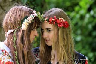 Cyrielle et Mathilde