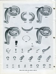 Schwinn Catalog - Bicycle Parts & Accessories - 1948/49 - Page 24 (Zaz Databaz) Tags: schwinn schwinncatalog 1948 1949 40s 1940s bfgoodrich