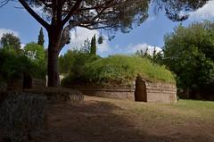 a Cerveteri (robra shotography []O]) Tags: lazio italy archaeology etruscan archeologia cerveteri unesco necropoli tumulo tomba tomb preroman etruschi europe