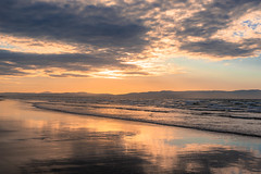 DSC_8494 (Daniel Matt .) Tags: sunset sunsetcolours nikon ireland northernireland fromhetop aerial view beach temple sunnny
