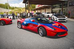Ferrari LaFerrari (Dylan King Photography) Tags: bugatti veyron ferrari 458 488 gtb mclaren 650s mp412c 570 540 gt s c mercedesbenz mercedesamg lamborghini countach aventador gallardo sv lambo superveloce lp560 lp550 lp640 roadster laferrari doors up f12 tesla model x sls 675lt porsche 993 996 997 991 911r r turbo turbos gt3 gt3rs rs gt4 clubsport bmw m6 m3 rollsroyce wraith dawn ghost nissan gtr huracan audi r8 s5 tts