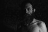 Tryptich (Francesco_1981) Tags: selfportrait blackandwhite blockedblacks beard offcameralighting canon6d
