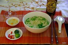"""Vietnam-Hanoi:At """"The 5 Spice Restaurant"""". (roxykon) Tags: vietnam indochina seasia hanoi food pentaxk5 tamron18250mm"""