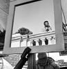(Silvio Iammarino) Tags: trix kodak monocromo monocrome street streetphotography urban city bw bew bnw people persone italy blackwhite blackandwhite analogic square 400 streetphoto tx interno7 analogue ishootfilm medium format mediumformat 6x6 noiretblanc mirror boy market