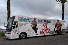 Arizona Fan Express (So Cal Metro) Tags: mci bus coach charter americanexplorer cox arizonafanexpress arizona hockey coyotes arizonacoyotes