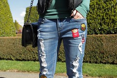 11 (inesabachurina) Tags: streetstyle aplique jeans