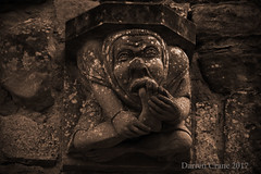 I like Toes (picdc1) Tags: nikon rufford abbey sigma d7200 gargoyle