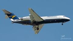 VH-JFE Fokker F70 Alliance Airlines (airliners.sk, o.z.) Tags: vhjfe fokker 70 alliance airlines airlinerssk mrstefanik bratislava lzib bts