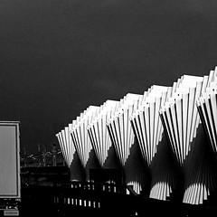 Reggio Emilia, Stazione AV (pom.angers) Tags: panasonicdmctz30 europeanunion april 2017 reggionellemilia emiliaromagna italia italy motorway highway station architecture calatrava 100 150 200