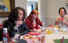 20161225 - Christmas Day - brunch - Clint, Carolyn, Britt - (by Dad) - 15723618_10211174820194408_1966682391857979929_o (Clio CJL) Tags: 20161225 201612 2016 virginia stafford house chrisandbrittshouse food eating drink mimosa mimosas holiday christmas christmas2016 christmasholiday clint carolyn camerapersondad britt