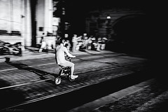 Citypulse in Prague (Dalibor Papcun) Tags: panning praha prague citypulse speed blackandwhite bw monochromat mono oldtown