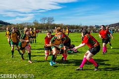 2017:03:25 14:25:00 (serenbangor) Tags: 2017 aberystwyth aberystwythuniversity bangoruniversity seren studentsunion undebbangor varsity rugby rugbyunion sport womens