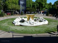 Grand Palais (Fontaines de Rome) Tags: paris grand palais exposition jardins pot doré jean pierre raynaud seine affluents françois raoul larche fontaine miroir eau