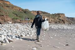 Isle of Wight Beach Clean at Compton Bay - DSCF2177 (s0ulsurfing) Tags: s0ulsurfing 2017 march isle wight beachclean pollution coast compton beach rubbish