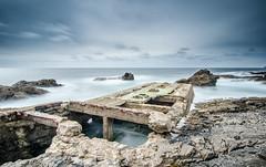 Cabo Raso (Hugo Miguel Peralta) Tags: tokina1224 leebigstopper leefilter longaexposição longesposare mar sea ocean nikond7000 portugal cascais