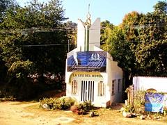 La Luz del Mundo (knightbefore_99) Tags: charlatan scam dumb sad pathetic church building believe mexico mexican jalisco road despair sol sun sunny luz mundo