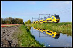 NSR-9558_Hil_29042017 (Dennis Koster) Tags: ns nsr trein personentrein passagierstrein hillgeom bollen
