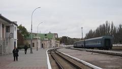 Feodosia. November 2016 (nikolasrybin) Tags: russia traveling olympus pen epl3 november 2016 fall urban street railway railwaystation crimea
