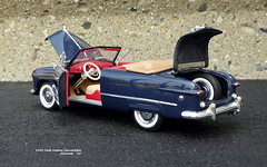 1949 Ford Custom Convertible (JCarnutz) Tags: 124scale diecast franklinmint 1949 custom