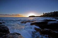Shelly Beach Sunrise - Manly (A R I A) Tags: beach manly shelly shellybeach sunrise ocean sea sydney australia nsw canon 5d 5dmkiii sky bluesky