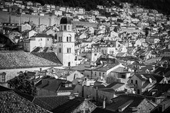 From the rooftops (McQuaide Photography) Tags: dubrovnik croatia hrvatska dalmatia ragusa europe sony a7rii ilce7rm2 alpha mirrorless 1635mm sonyzeiss zeiss variotessar fullframe mcquaidephotography adobe photoshop lightroom handheld oldtown oldfashioned old city urban blackandwhite blackwhite bw mono monochrome cityscape elevated rooftop roof unesco heritage history historic citywalls