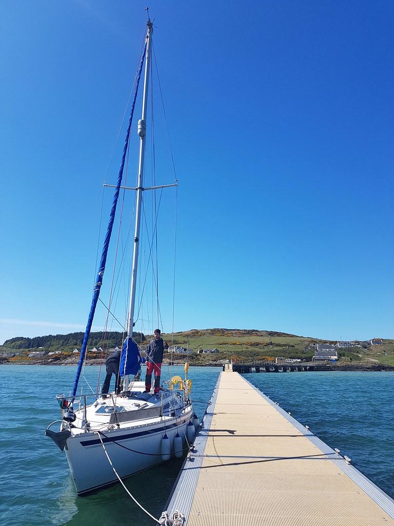 Gigha's lovely new jetty