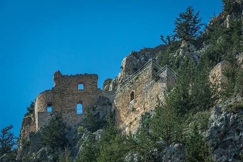 Buffavento Castle, Kyrenia mountain range, North Cyprus