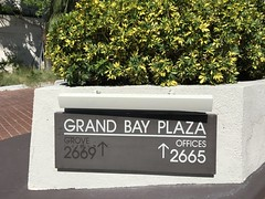 Grand Bay Plaza Coconut Grove (Phillip Pessar) Tags: miami coconut grove building architecture grand bay plaa