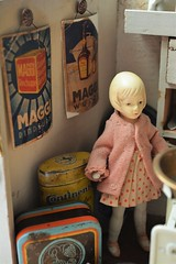Tante Emmas Laden - Aunt Emma's shop (shero6820) Tags: kaufladen kaufmannsladen shop toy old antique vintage tins german homemade maggi japanese bisque store épicerie jouetancien