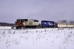 A Little Help frpm CR (ac1756) Tags: soo sooline soosubdivision emd sd402 782 troutlake michigan train911