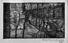 Paris (1906) - Sonia Terk (Delauny) (1885-1979) (pedrosimoes7) Tags: soniadelauny paris blackwhite blackandwhite cityscape centrodeartemanueldebrito camb paláciosdosanjos algés portugal blackwhitephotos ✩ecoledesbeauxarts✩ nakednews masterpiecemansion