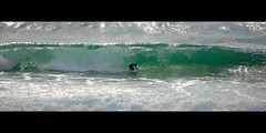 Surfeur, Biscarrosse (Gilles Cherriffa) Tags: surf surfeur surfer vague wave ocean sport mer landes aquitaine plage biscarrosse tube