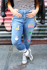 4 (inesabachurina) Tags: streetstyle aplique jeans